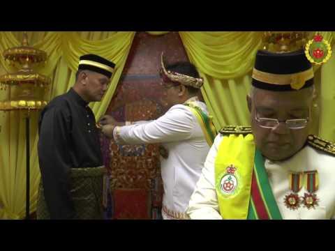 Istiadat Darjah Kebesaran Mahkota Palembang (24 Sept 2016)