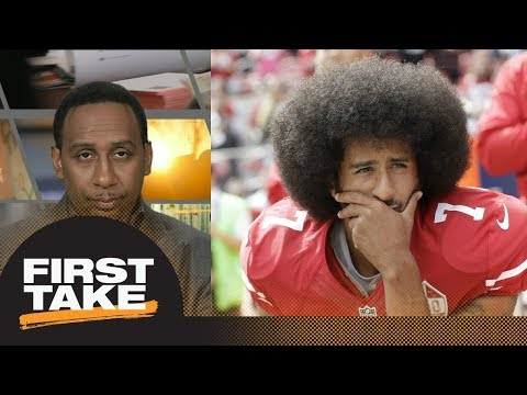Stephen A.: Colin Kaepernick more preoccupied with being 'martyred' than NFL QB | First Take | ESPN