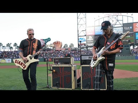 Kirk & James Perform the National Anthem (2017 Metallica Night w/ the SF Giants) Thumbnail image