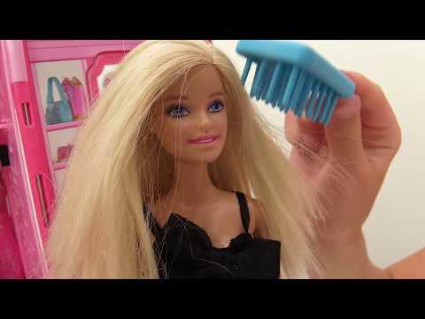 Видео для девочек. #Кен учит #Барби кататься НА МОТОЦИКЛЕ по горам. Игры с #Барби на #Лайкландия