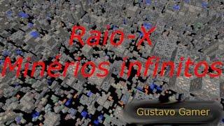 Minérios á Vista Texture Pack Raio-X Minecraft 1.8 & 1.9 (Download)
