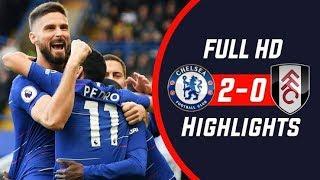 Atrás do lider Chelsea 2 x 0 Fulham