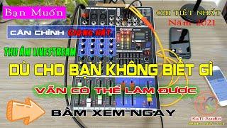 Hướng dẫn sử dụng cân chỉnh mixer yamaha m4 năm 2021 screenshot 5