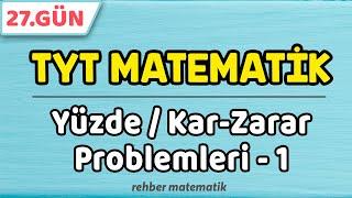 Yüzde Kar Zarar Problemleri 1  49 Günde TYT Matematik 27.Gün rmtayfa 2021tayfa