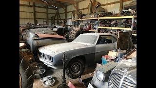 Massive Musclecar Barn Find Cars And Parts Hoard Found In Iowa