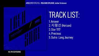 Gambar cover [MINI ALBUM] ATEEZ (에이티즈) – TREASURE EPILOGUE : Action To Answer
