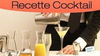 Comment faire un cocktail : le paradise