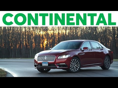 2017 Lincoln Continental Quick Drive | Consumer Reports