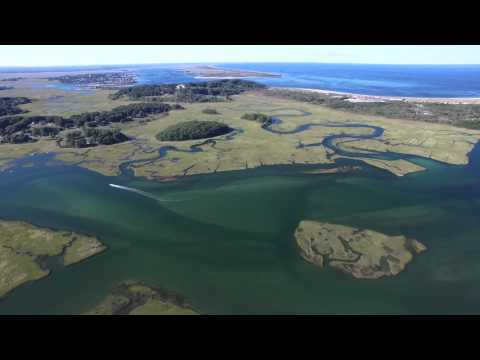 From Plum Island to Essex Bay, Drone Footage (Full Flight)
