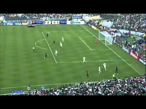 My all time favorite goal ever, Mexico's Gio dos Santos vs USA in the 2011 Gold Cup Final. There is just nothing like that.