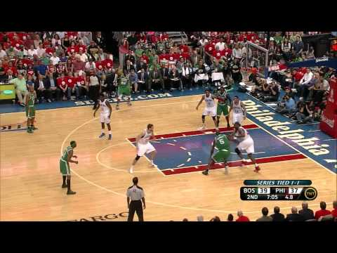 Elton Brand can not stop Kevin Garnett without a foul