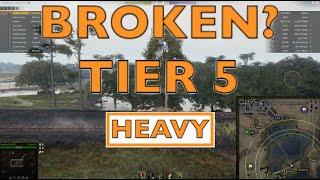 WOT - Most Broken OP Tier 5 Heavy | World of Tanks