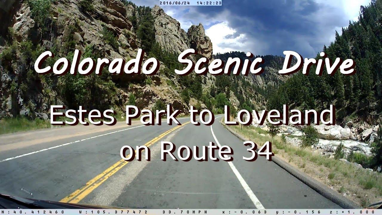 Colorado Scenic Drive - Estes Park to Loveland