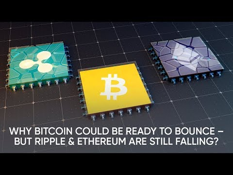 Why Bitcoin Could Be Ready To Bounce, But Ripple & Ethereum Are Still Falling?