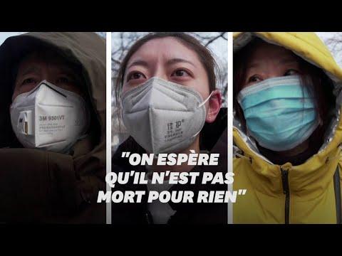 En Chine, la mort du médecin lanceur d'alerte sur le coronavirus provoque la colère des citoyens