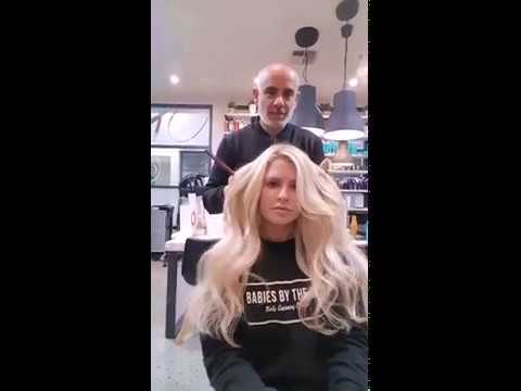 Seamless1 hair extensions training at Studio B Hair Colourists
