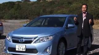 トヨタ カムリ商品解説、高級車並みの上質感 thumbnail