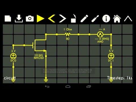 Android Circuit Simulator Circuit Solver - YouTube