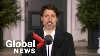 Coronavirus outbreak: Trudeau says Canada to provide funding for seniors, most vulnerable | FULL