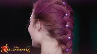 Mal Cotillion French Braid Tutorial | DIY | Descendants 2