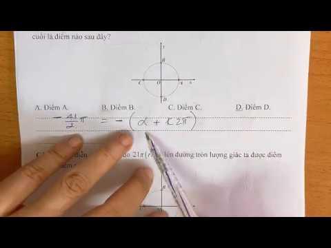 Ôn thi HK2 phần trắc nghiệm Lượng giác chương 6 đại số 10