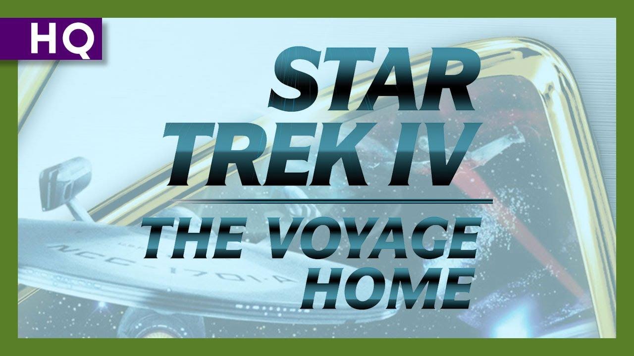 Star Trek IV: The Voyage Home (1986) Trailer