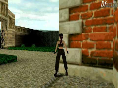 Tomb Raider II Walkthrough - Croft Mansion & Great Wall - Part 1