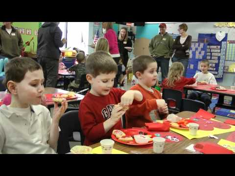 Jack's School Valentines Day Party
