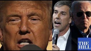 "Trump takes aim at Beto O'Rourke, Joe Biden, more in rant against ""wealthy liberal hypocrites"""