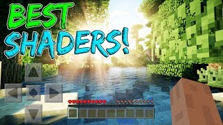 The NEW Best Shaders for MCPE 2017!! - Minecraft Shaders Video