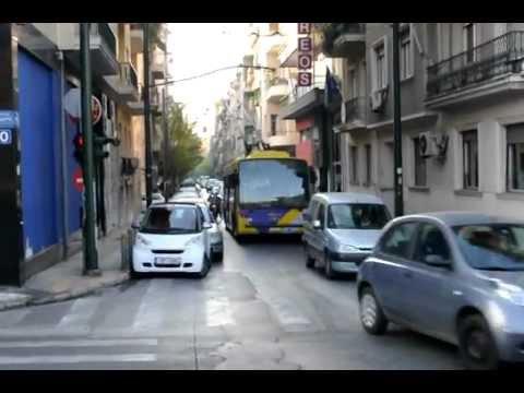 Trolejbus na prawoskręcie
