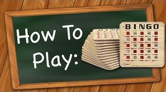 How to Play: Bingo