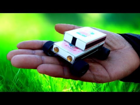 How to Make a Electric Toy Car at Home Creative Matchbox Car