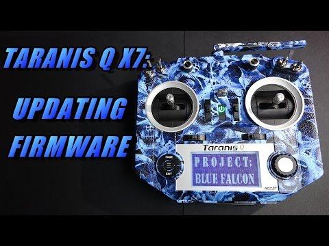 Taranis Q X7: Updating Firmware