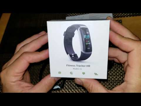How to Remove bracelet and Connect Akuti Fitness Tracker HR S1 to