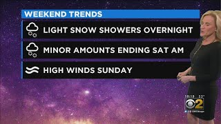 CBS 2 Weekend Weather Planner