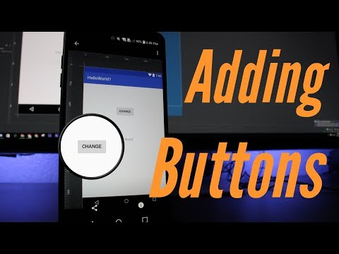 Creating Buttons In Your App
