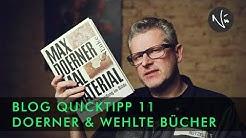 Max Doerner & Kurt Wehlte Maltechnikbücher  - QUICKTIPP 11