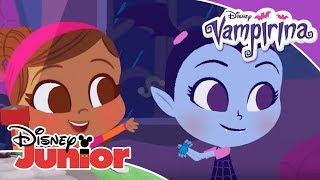 Vampirina: Canciones Infantiles -  Está lloviendo, está diluviando   Disney Junior Oficial