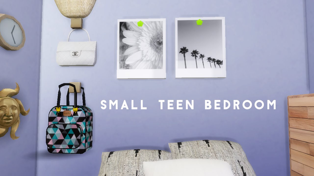 The Sims 4 Small Teen Bedroom 3   2016 Classic Reno