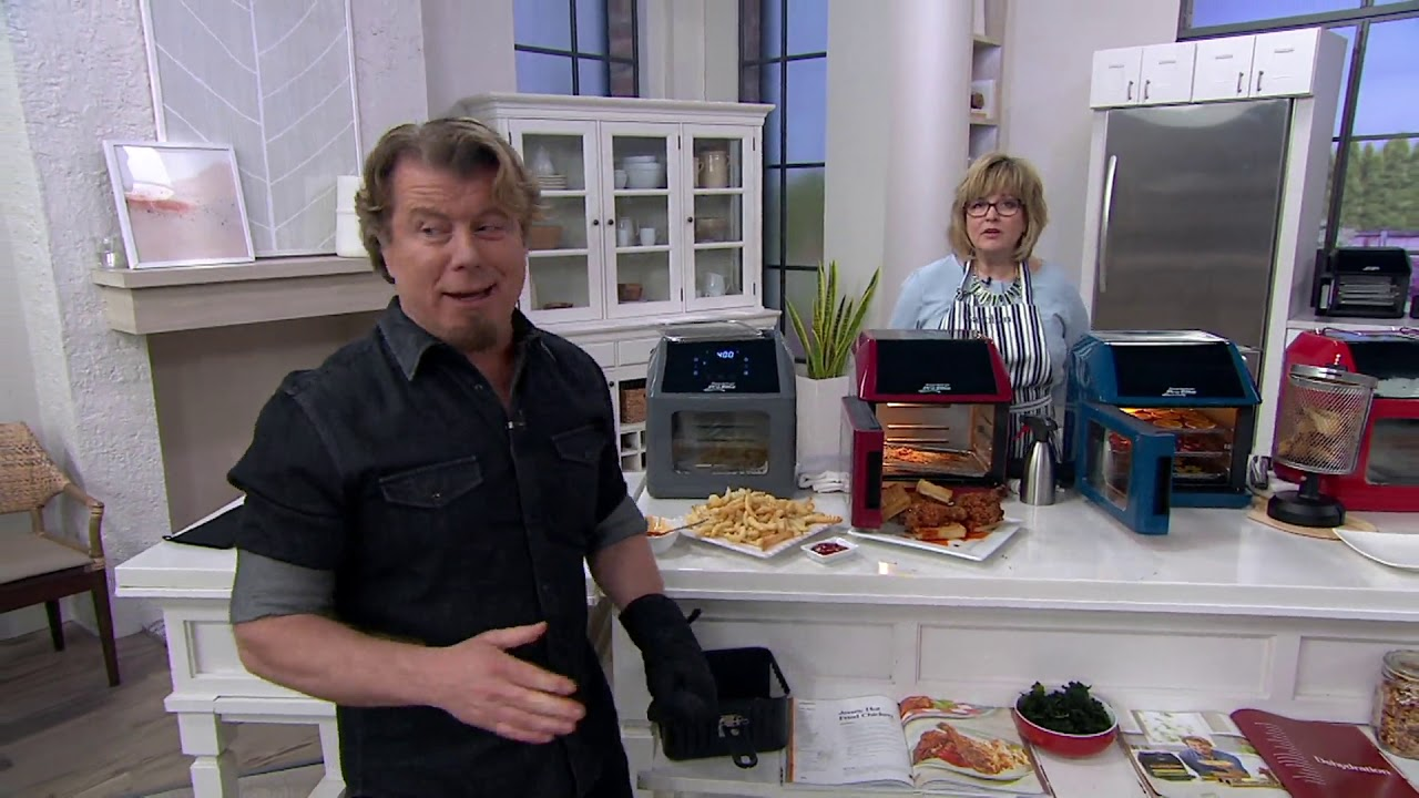 Power Air Fryer 10-in-1 Pro Elite Oven 6-qt with Cookbook on QVC