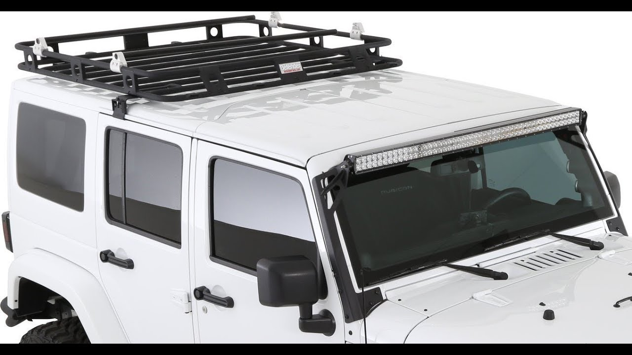 The best Jeep JK Roof rack , Smittybilt Defender