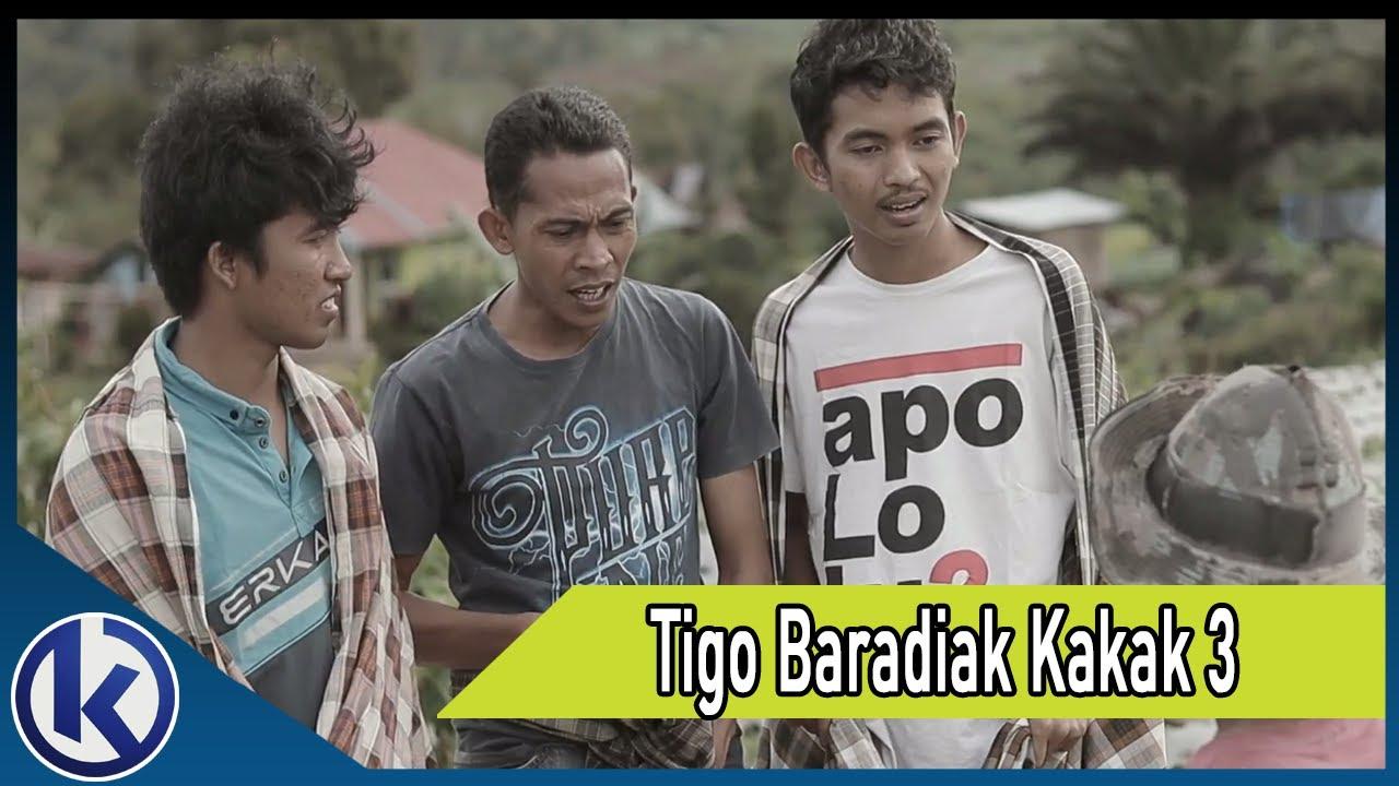 Tigo Baradiak Kakak 3   Lawak Minang (Mangaleke)
