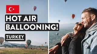 Hot Air Balloon Ride Turkey + Pamukkale Thermal Pools | Turkey Vlog | Travel Talk Tours #3