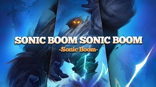 Sonic Boom Sonic Boom Sonic Boom