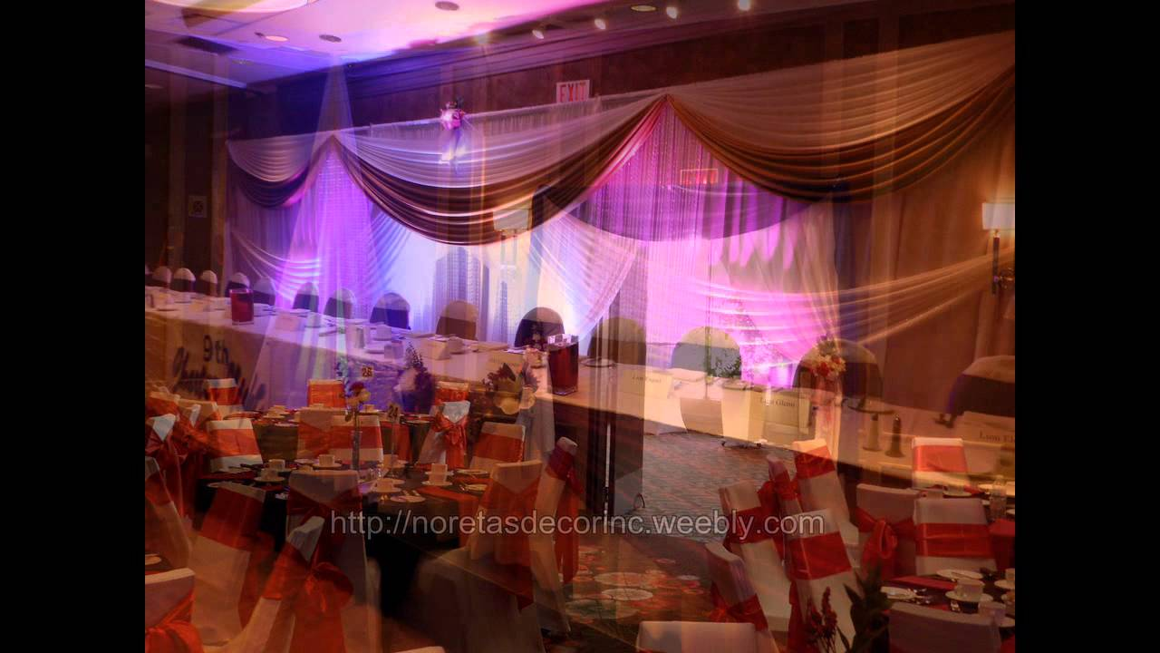 Beautiful wedding decoration elegant weddings and events for Photo decoration