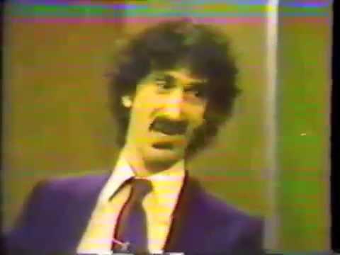 "Frank Zappa:  CNN ""Freeman Report"" Full Interview"