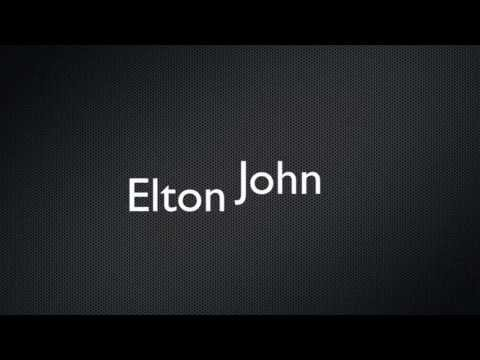 Elton John Your Song - Playback
