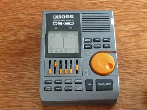 boss db 90 dr beat metronome manual