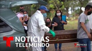Video oficial de Noticias Telemundo. Con una cifra que supera los 13000 fallecidos, es el sexto país del mundo con más muertes de COVID-19 y puede estar a ...
